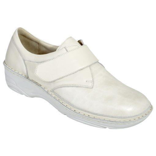 Berkemann tépőzáras cipő Denise bőr/sztreccs bézs