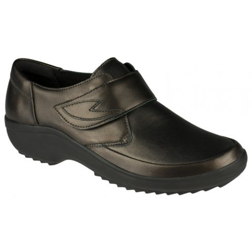 Berkemann tépőzáras cipő Talia bőr/sztreccs bronz