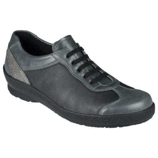 Berkemann fűzős cipő Sophie bőr/sztreccs szürke