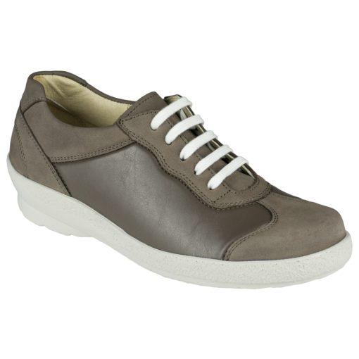 Berkemann fűzős cipő Sophie nubuk/sztreccs barna szürke