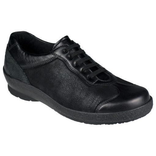 Berkemann fűzős cipő Sophie bőr/sztreccs fekete