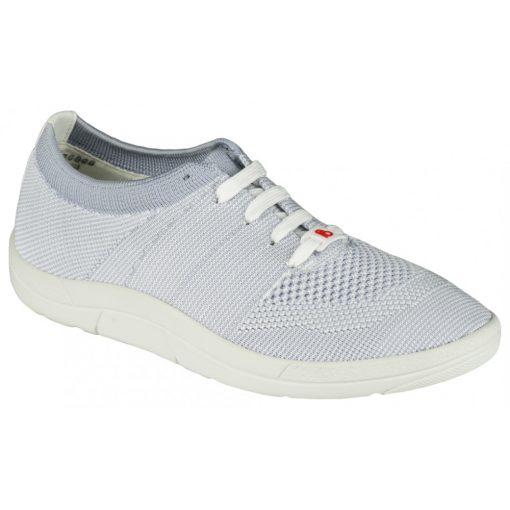 Berkemann fűzős cipő Allegra kötött szürke fehér