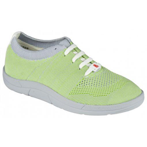Berkemann fűzős cipő Allegra kötött zöld sárga