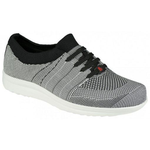 Berkemann fűzős cipő Allegro kötött fehér fekete