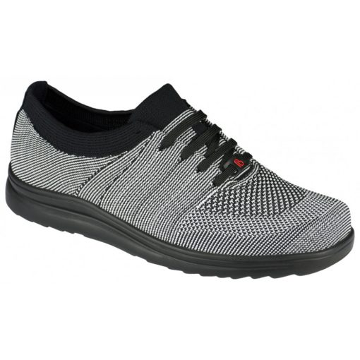 Berkemann fűzős cipő Allegro kötött fekete fehér