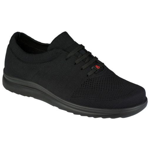 Berkemann fűzős cipő Allegro kötött fekete