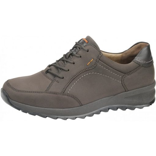 Waldlaufer kényelmi fűzős cipő Helle bőr sötétbarna