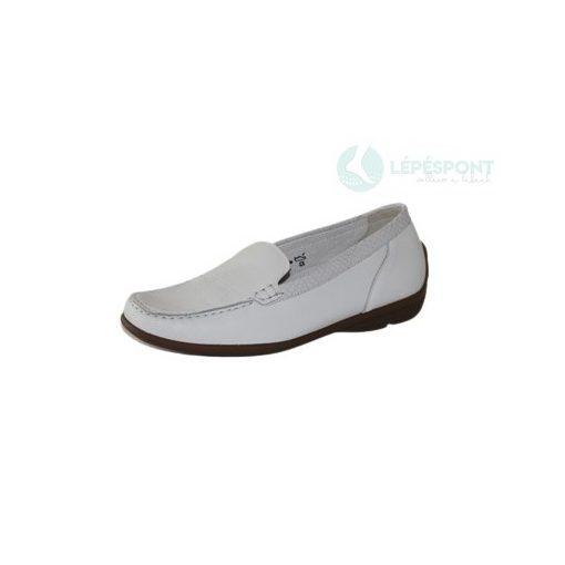 Waldlaufer belebújós cipő Harriet bőr fehér