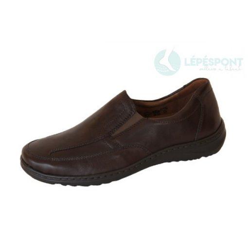 Waldlaufer kényelmi belebújós cipő Herwig bőr barna