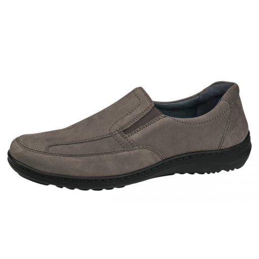 Waldlaufer kényelmi belebújós cipő Herwig nubuk szürke