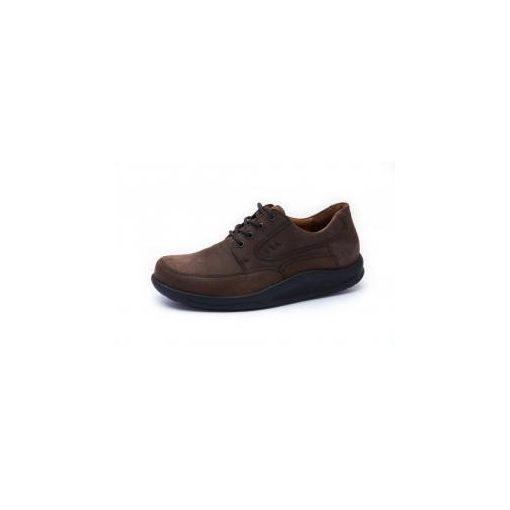 Waldlaufer dynamic gördülő talpú fűzős cipő Helgo nubuk sötétbarna