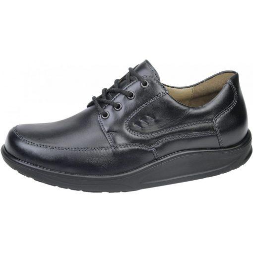 Waldlaufer dynamic fűzős cipő Helgo bőr fekete
