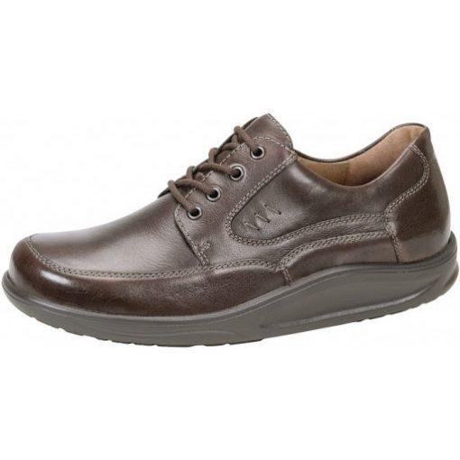 Waldlaufer dynamic fűzős cipő Helgo bőr sötétbarna