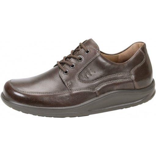 Waldlaufer dynamic gördülő talpú fűzős cipő Helgo bőr sötétbarna