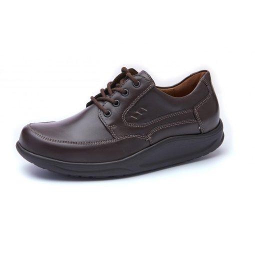 Waldlaufer dynamic gördülő talpú fűzős cipő Helgo bőr barna