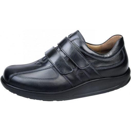 Waldlaufer dynamic tépőzáras cipő Helgo bőr fekete