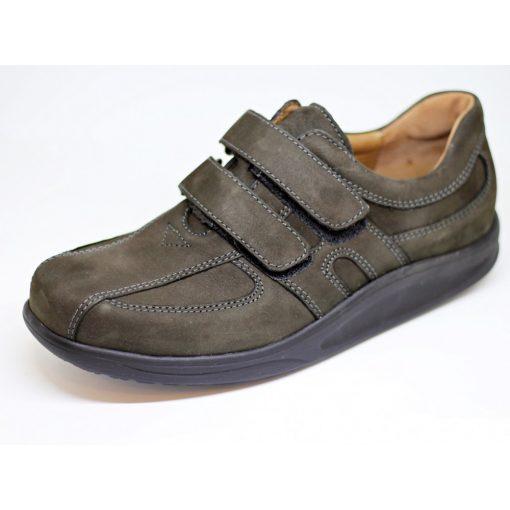 Waldlaufer dynamic tépőzáras cipő Helgo nubuk zöldesbarna