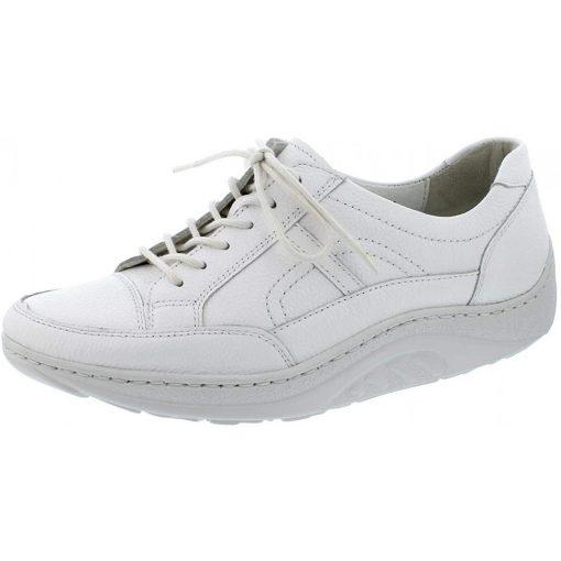 Waldlaufer dynamic fűzős cipő Helli bőr fehér