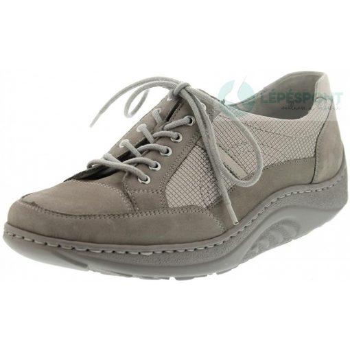 Waldlaufer dynamic fűzős cipő Helli nubuk szürke ezüst