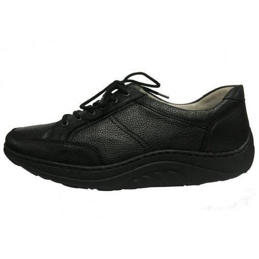 Waldlaufer dynamic fűzős cipő Helli bőr fekete