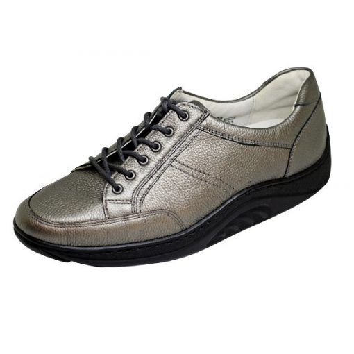 Waldlaufer dynamic gördülő talpú fűzős cipő Helli bőr zöld