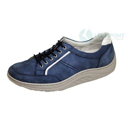 Waldlaufer dynamic fűzős cipő Helli nubuk farmerkék ezüst