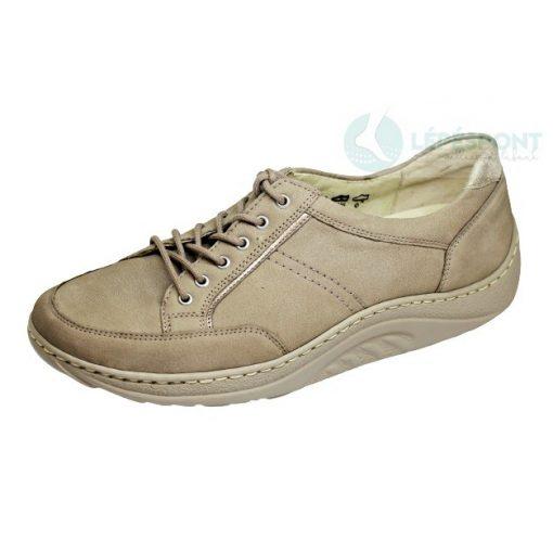 Waldlaufer dynamic fűzős cipő Helli nubuk drapp arany