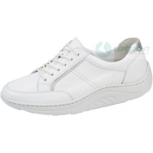 Waldlaufer dynamic fűzős cipő Helli bőr fehér ezüst