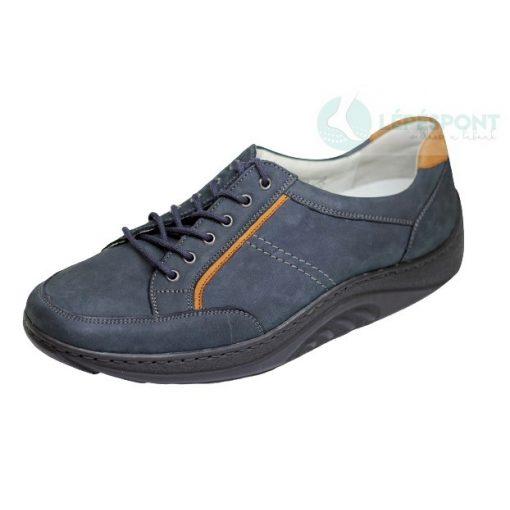 Waldlaufer dynamic fűzős cipő Helli nubuk kék