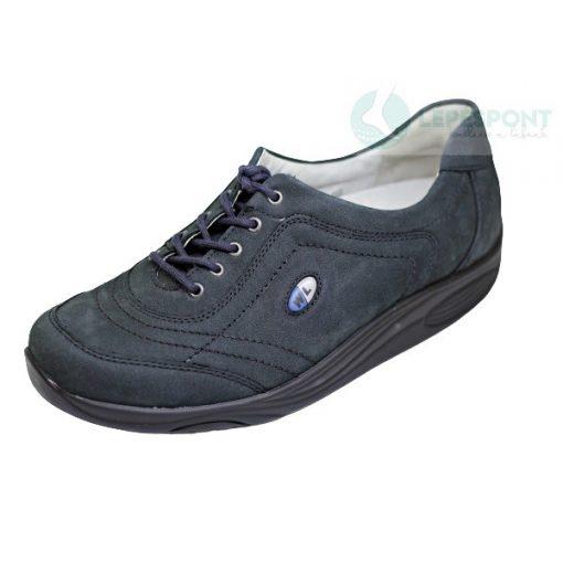 Waldlaufer dynamic fűzős cipő Herina nubuk kék