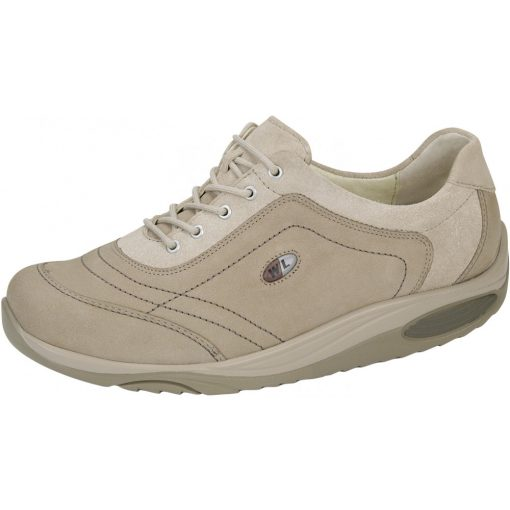 Waldlaufer dynamic fűzős cipő Herina nubuk drapp