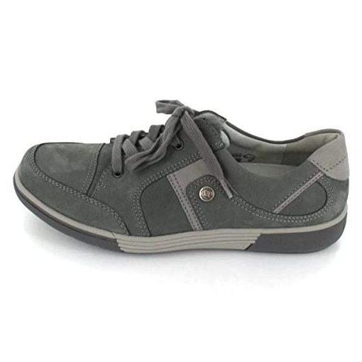 Waldlaufer kényelmi fűzős cipő Heath nubuk szürke