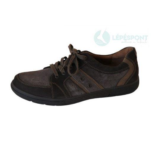 Waldlaufer kényelmi fűzős cipő Heath velúr/nubuk sötétbarna