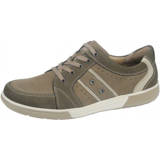 Waldlaufer kényelmi fűzős cipő Heath nubuk barna