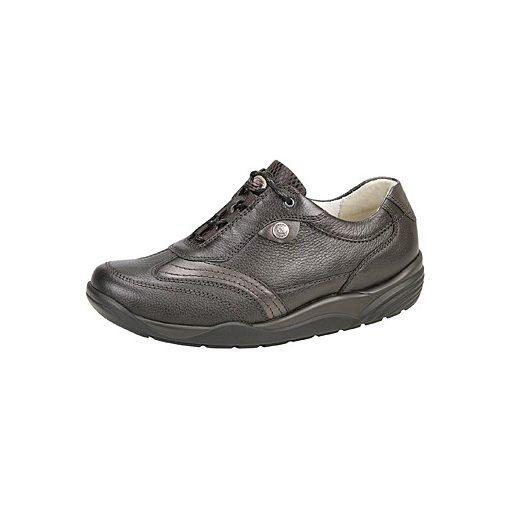 Waldlaufer dynamic gördülő talpú fűzős cipő Hija bőr sötétbarna