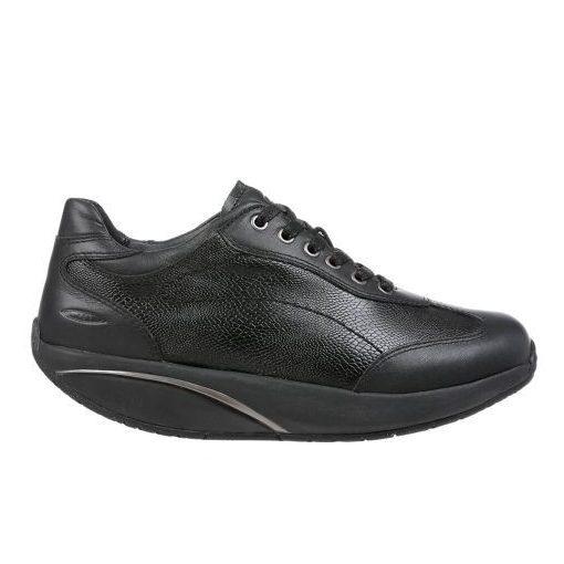 MBT fűzős cipő Pata 6S bőr fekete