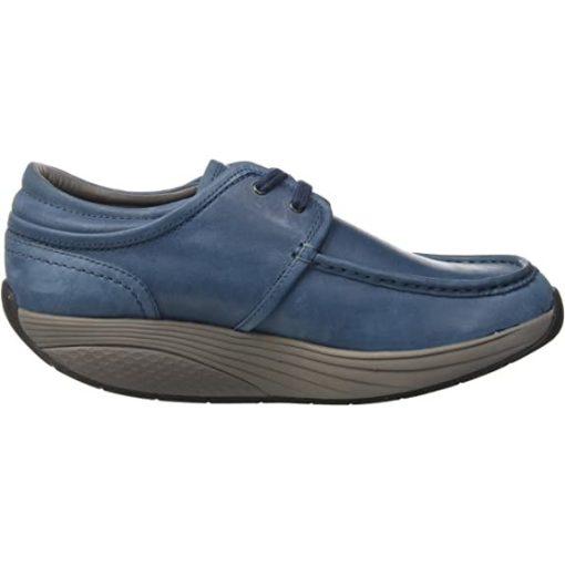 MBT fűzős cipő Kheri 6S bőr kék