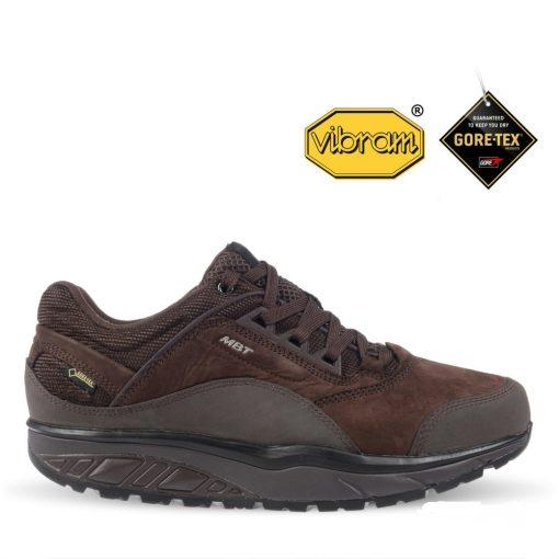 MBT fűzős cipő Anasa GTX barna fekete