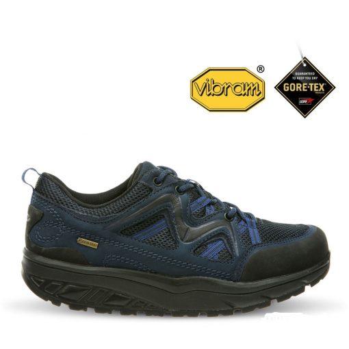MBT fűzős cipő Himaya GTX nubuk/textil kék fekete