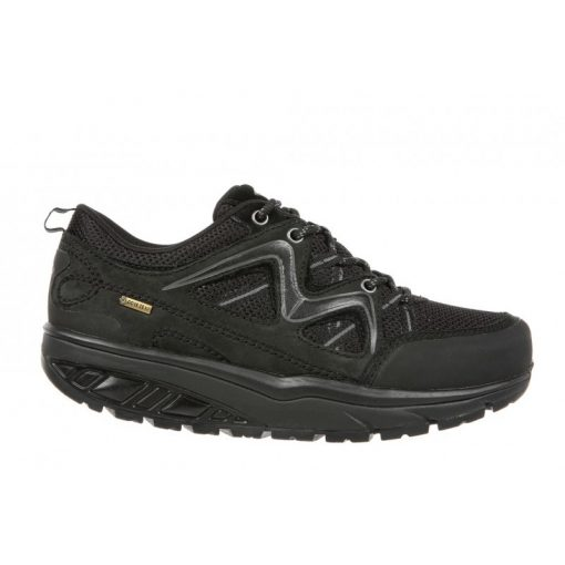 MBT fűzős cipő Himaya GTX nubuk/textil fekete