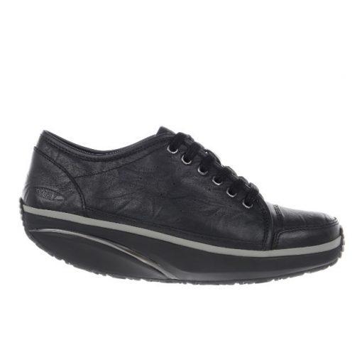 MBT fűzős cipő Nafasi bőr fekete