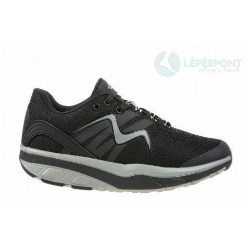 MBT fűzős sportcipő Leasha Trail Lace Up textil fekete szürke