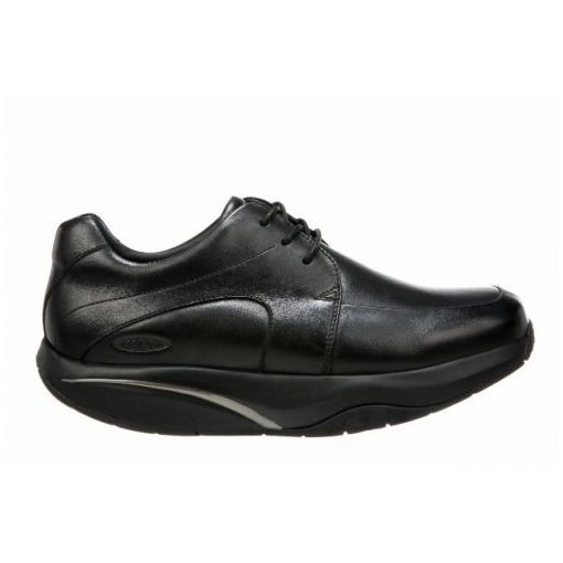 MBT fűzős cipő Shuguli bőr fekete