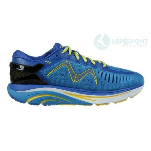 MBT fűzős sportcipő GT 2 textil kék sárga