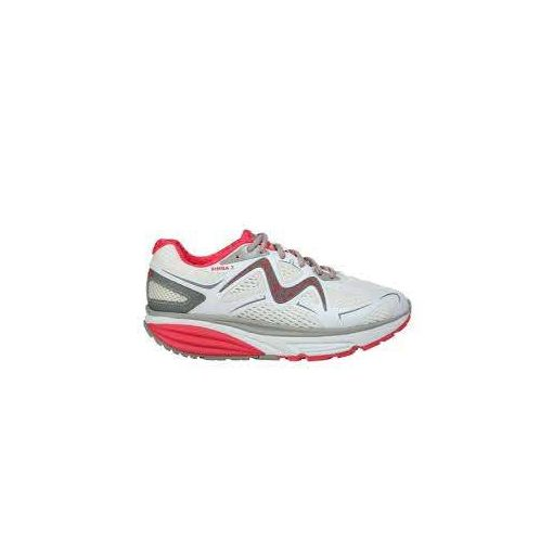 MBT fűzős sportcipő Simba 3 textil fehér piros