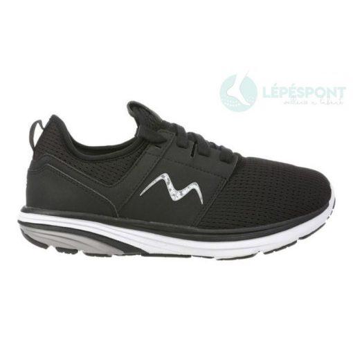 MBT fűzős sportcipő Zoom 2 textil fekete