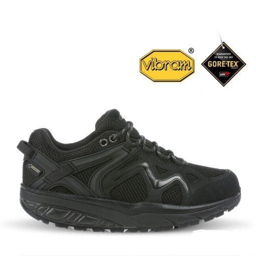 MBT fűzős cipő Himaya 18 GTX bőr/textil fekete