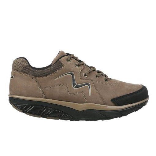 MBT fűzős cipő Mawensi nubuk barna