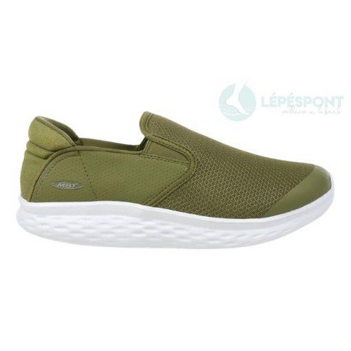 MBT belebújós cipő Modena Slip On szintetikus/textil zöld