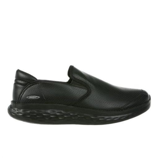 MBT belebújós cipő Modena Slip On szintetikus fekete